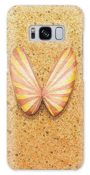 Butterfly Sea Shell Galaxy Case