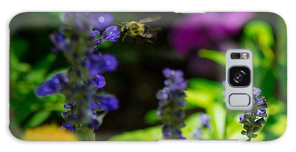 Buzzing Around Galaxy Case by Shannon Harrington