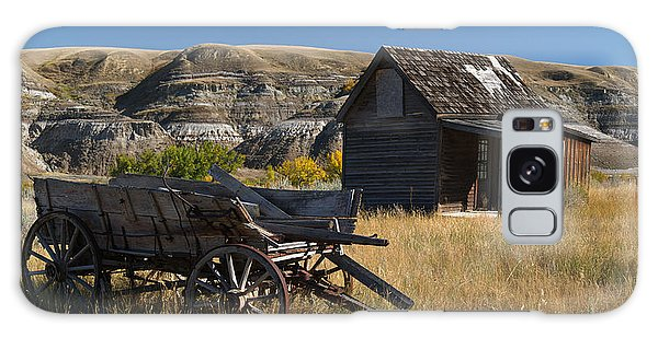 Cabin And Wagon Alberta  Galaxy Case