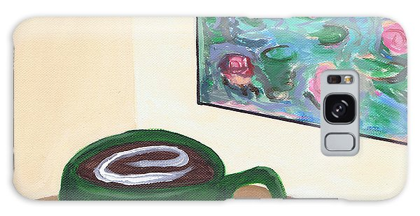 Cafe Monet Galaxy Case