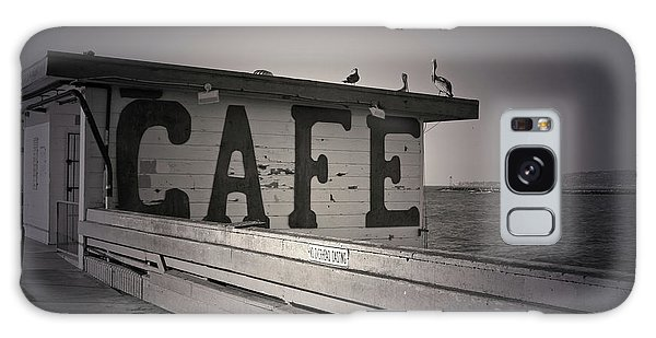 Cafe On The Pier Galaxy Case