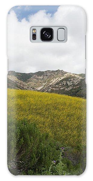 California Hillside View V Galaxy Case