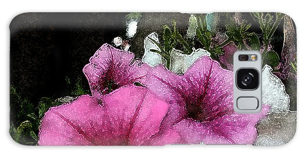 California Petunias Galaxy Case