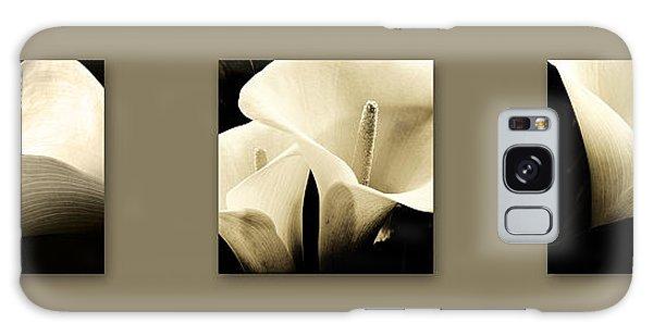 Calla Lilies Art Galaxy Case
