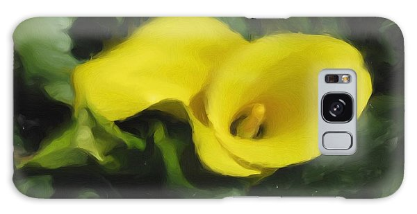 Calla Lily Galaxy Case by Hai Pham