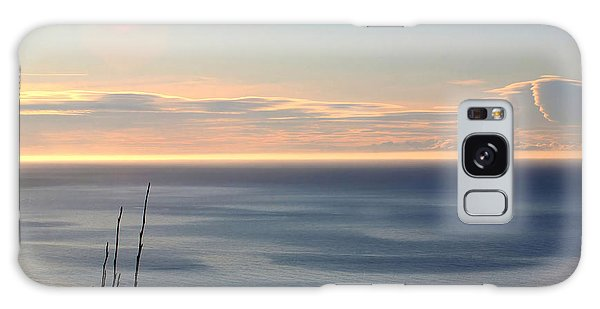 Calm Sea Galaxy Case by Michele Cornelius