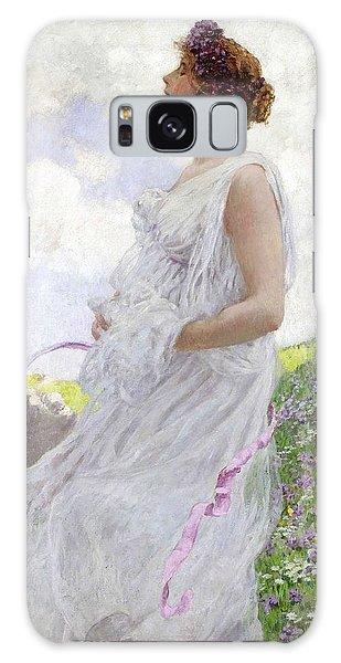Woman Galaxy Case - Calypso by George Hitchcock