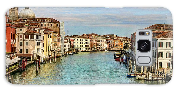 Canals Of Venice  Galaxy Case