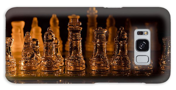 Candle Lit Chess Men Galaxy Case
