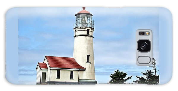 Cape Blanco Lighthouse Galaxy Case by Nick Kloepping