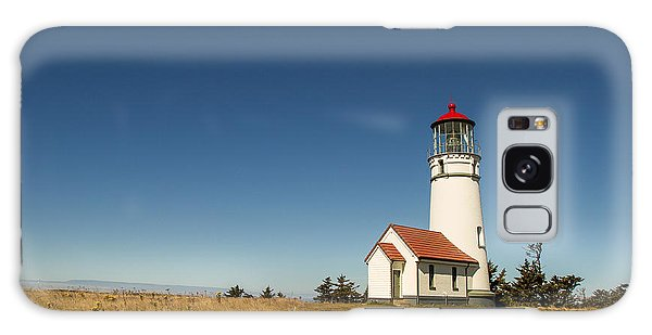 Cape Blanco Lighthouse Galaxy Case by Randy Wood
