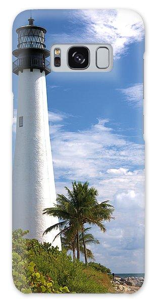 Cape Florida Lighthouse Galaxy Case