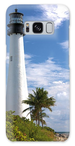 Cape Florida Lighthouse Galaxy Case