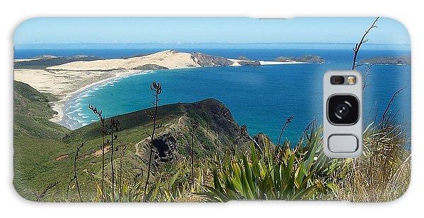 Cape Reinga - North Island Galaxy Case by Peter Mooyman