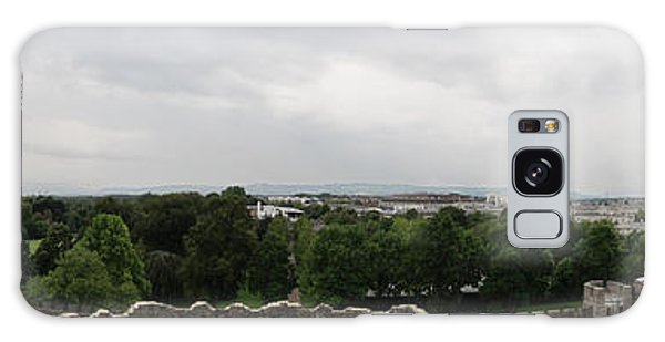 Cardiff Castle Panorama Galaxy Case