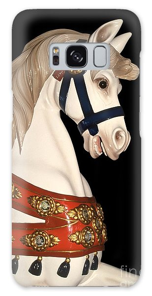 carnival ponies - Champagne Champion Prancing Galaxy Case