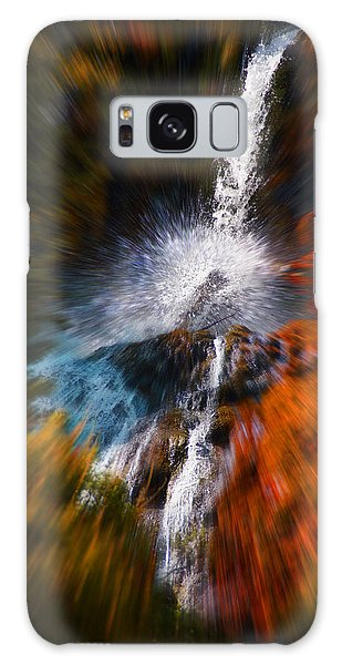 Cascade Waterfall Galaxy Case by Mick Anderson