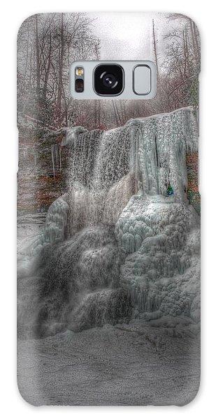 Cascades In Winter 3 Galaxy Case by Dan Stone