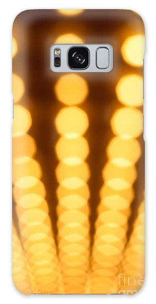 Movie Galaxy Case - Casino Lights Out Of Focus by Paul Velgos
