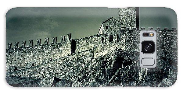 Castelgrande Bellinzona Galaxy Case by Joana Kruse