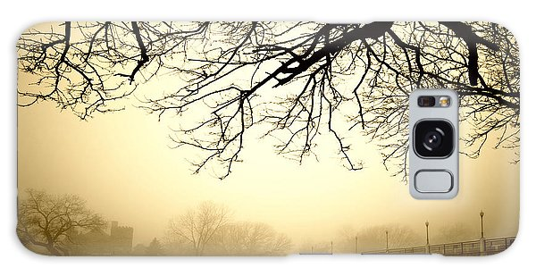 Castle In The Fog Galaxy Case by Brian Duram