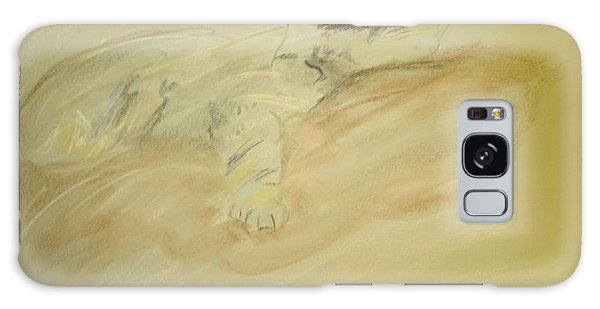 Cat Sketch Galaxy Case