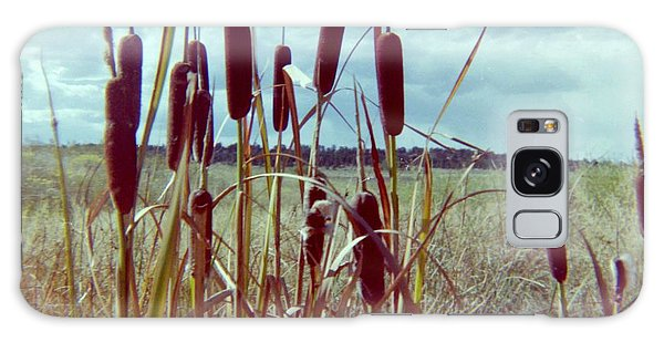 Galaxy Case - Cat Tails by Bonfire Photography