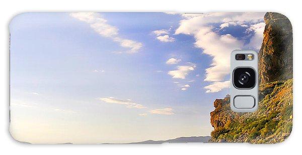 Cave Rock - Lake Tahoe Galaxy Case