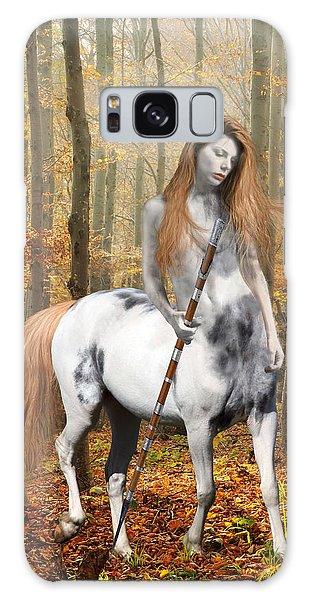 Centaur Series Autumn Walk Galaxy Case by Nikki Marie Smith