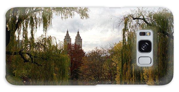 Central Park Autumn Galaxy Case