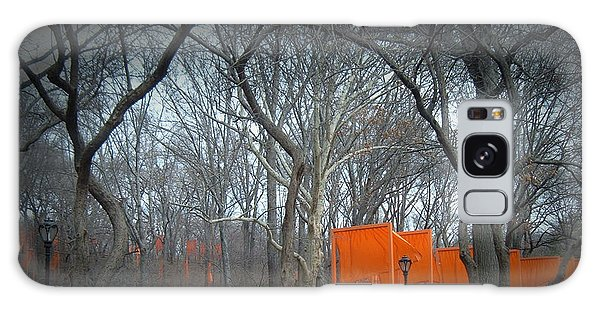 New York City Taxi Galaxy Case - Central Park by Naxart Studio