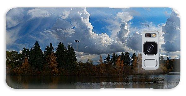 Central Pond Hawrelak Park Edmonton Galaxy Case