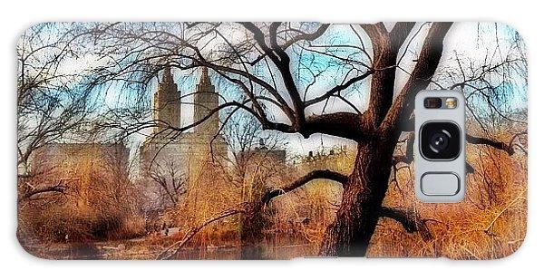Skylines Galaxy Case - #centralpark #park #outdoor #nature #ny by Joel Lopez