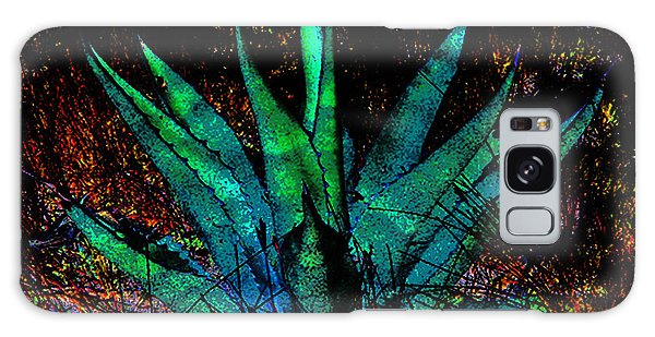 Century Plant Galaxy Case by Louis Nugent