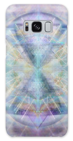 Chalice Of Vorticspheres Of Color Shining Forth Over Tapestry Galaxy Case