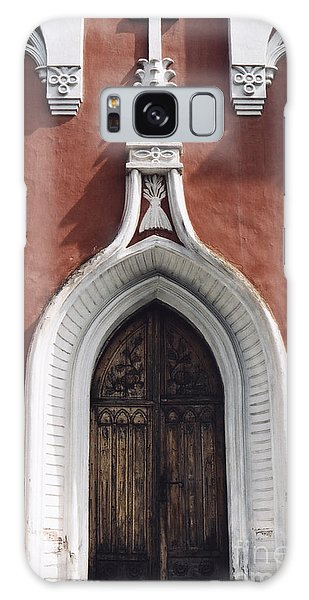 Chapel Entrance In White And Brick Red Galaxy Case