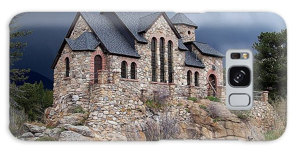 Chapel On The Rocks No. 1 Galaxy Case