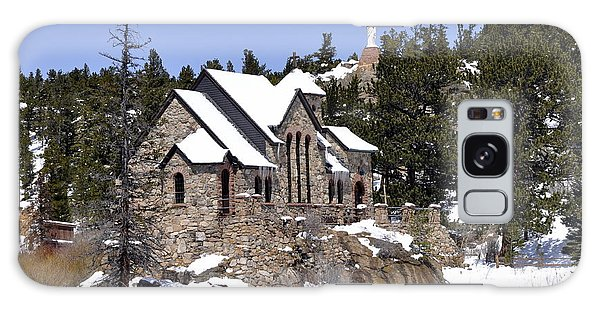 Chapel On The Rocks No. 3 Galaxy Case