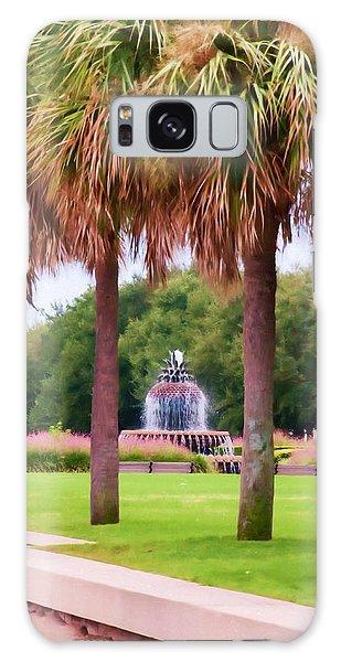 Charleston Pineapple Fountain Galaxy Case