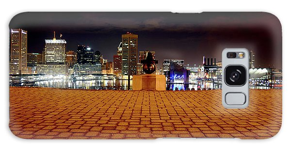 Charm City Skyline Galaxy Case