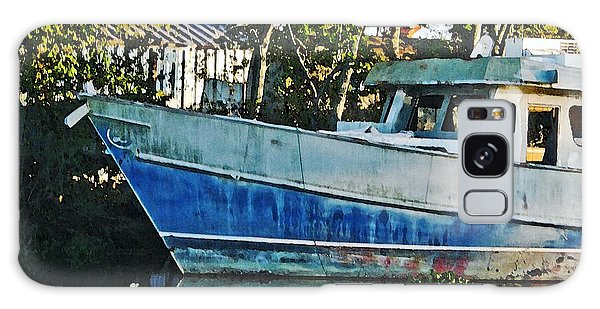 Chauvin La Blue Bayou Boat Galaxy Case