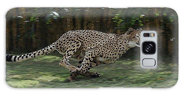 Cheetah Run Galaxy Case