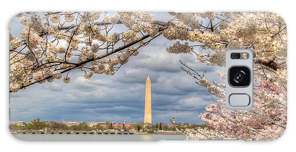 Cherry Blossoms Washington Dc 4 Galaxy Case