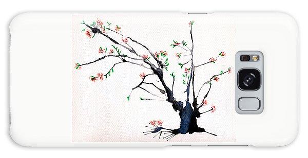 Cherry Tree By Straw Galaxy Case