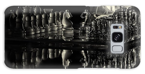 Chess By Candlelight Galaxy Case