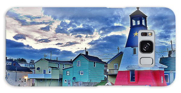 Cheticamp In Cape Breton Nova Scotia Galaxy Case