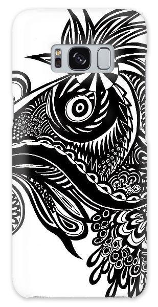 Galaxy Case - Chicken by Karen Elzinga