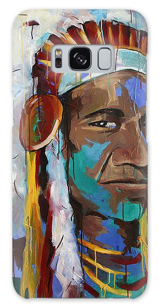 Indian Head Galaxy Case - Chiefing by Julia Pappas