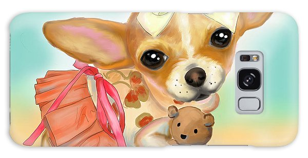 Chihuahua Princess Galaxy Case