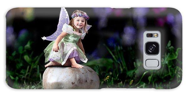 Child Fairy On Mushroom Galaxy Case